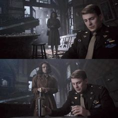 ; Don't think about how Steve probably spent hours alone in a destroyed bar crying over the loss of Bucky, trying to drink away the pain, but can't, but keeps drinking anyway. Don't think about him sitting there thinking of how it was all his fault. How all of it should be blamed on him. Don't. #captainamerica #steverogers #chrisevans #stucky