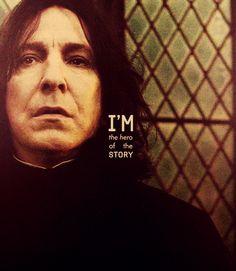 Alan Rickman as Severus Snape | harry potter film edits severus snape deathly hallows alan rickman ...