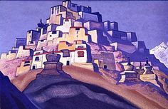 Island of Rest ~ Nicholas Roerich Marc Chagall, Kandinsky, Nicholas Roerich, American Union, Paintings I Love, Awesome Paintings, Art Database, Oil Painting Reproductions, Art And Architecture