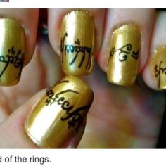 Elvish-Okay, this is just awesome! It's the Mordor Elvish on the Ring!