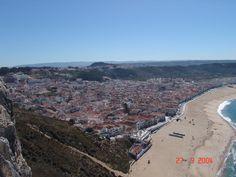 """Vista Panoramica de Nazare - Leiria - Portugal - 39º 36' 15.67"""" N 9º 4' 34.10"""" W"""