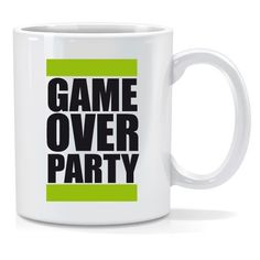Tazza personalizzata Game over party