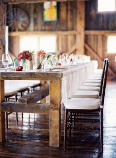 oh farm tables, we love you.