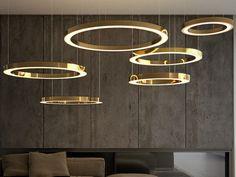 Lampada a sospensione fatta a mano in metallo MAHLU by Cameron Design House design Ian Cameron