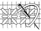needlepoint stitches - star stitch