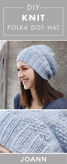 Looking to make a handmade accessory for a fun activity this fall? We have just what you need! This DIY Knit Polka Dot Hat project from JOANN can help you work through all the technicalities. Plus, the end result may just become your favorite addition to any outfit this season.