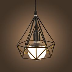 NEW Vintage Iron Pendant Light Industrial Loft Retro Droplight Bar Cafe Bedroom Restaurant American Country Style Hanging Lamp