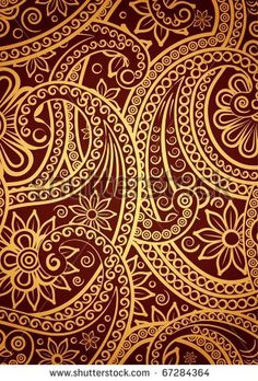 damask wallpaper pattern red - Bing Images