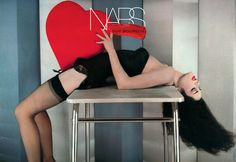 NARS's Sexy New Guy Bourdin Collection Breaks All the Beauty Rules