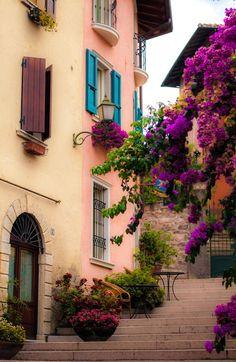 Gardone Riviera, Brescia, Italy - by ewka