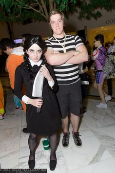 Wednesday Addams and Pugsley Addams | Katsucon 2015