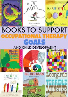 Children's books are the perfect occupational therapy tool for kids.