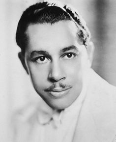 Cab Calloway: soaring, scatting voice and sweet good looks.