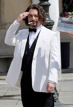 View the 50 Reasons Why We Love Johnny Depp photo gallery on Yahoo Celebrity. Find more news related pictures in our photo galleries. Johnny Depp Roles, Johnny Depp Smoking, Young Johnny Depp, Johnny Movie, Tim Burton Beetlejuice, Jonny Deep, Sweeney Todd, Helena Bonham Carter, Captain Jack Sparrow