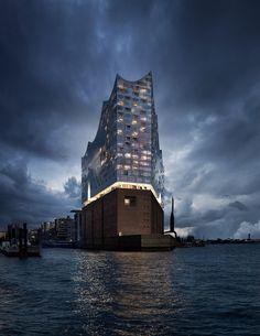 Herzog and De Meuron- Architecture Visualisation
