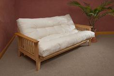 "Organic mattress, latex mattress, wool mattress pad, organic comforter $999 8"" futon mattress, twin"