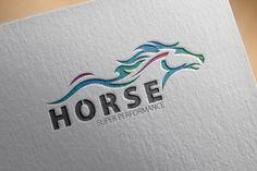 Horse Logo by Samedia Co. on Creative Market