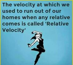 The exact definition of Relative velocity.