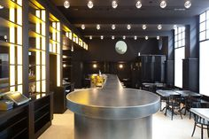 Volkshaus Basel Bar and Brasserie by Herzog & de Meuron // Switzerland