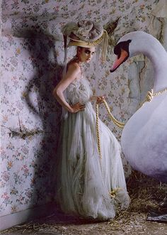 The Snow Queen | Tim Walker #photography | Vogue UK March 2009