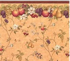 Vintage Fruit Wallpaper   Bing Images | Old Wallpaper,chintz.paisley And  Toile | Pinterest
