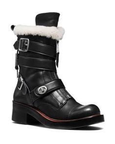 COACH Zip Moto Boot | Bloomingdale's
