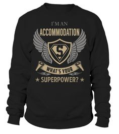 Accommodation Superpower Job Title T-Shirt #Accommodation