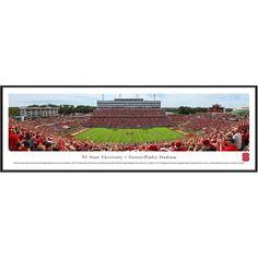 "NC State Wolfpack 13"" x 40"" Carter-Finley Stadium Standard Frame Panorama - $99.99"