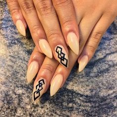 Stiletto nails 10 lil lovely's featuring polyvore, beauty products, nail care and nails