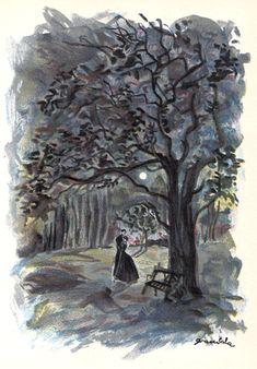 Jane Eyre Illustration   Grau Sala
