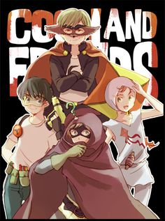 Coon and friends by nolly3 on deviantART