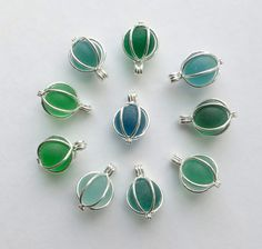 Hey, I found this really awesome Etsy listing at https://www.etsy.com/listing/221987109/sea-glass-marble-locket-necklace