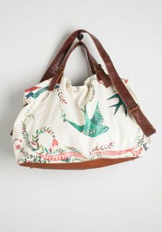 Girl Meets Voyage Weekend Bag | Mod Retro Vintage Bags | ModCloth.com
