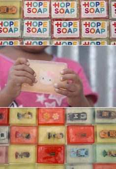 Blikkiesdorp is a settlement outside of Cape Town in South Africa. Hope Soap contains a prize for kids to encourage washing as playing. The creators of Hope Soap claim that hygiene levels are now up 70% among children. #soap #fun #toys