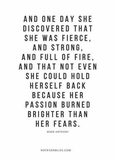 her passion burned brighter than her fears//InshaalKhizar