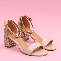 Sandale cu toc Barletta bej #sandale #glitter Shoes, Fashion, Moda, Zapatos, Shoes Outlet, Fashion Styles, Shoe, Footwear, Fashion Illustrations