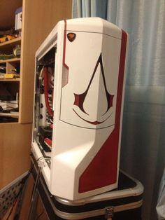 Amazing Assassins Creed themed Case Mod.