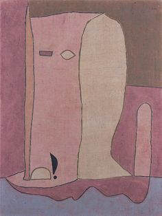 Paul Klee ~ Garden Figure, 1940.   The simplicity of this is stunning.
