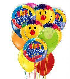 Happy Birthday full of Smiles from 1-800-Balloons.com