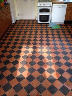 Victorian Quarry Tiles Heftfordshire