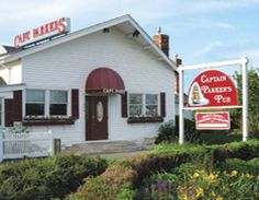 Captain Parkers--Yarmouth, Cape Cod. The best Clam Chowdaaaahhhh!