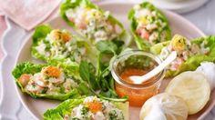 Prawn Cocktail Lettuce Cups