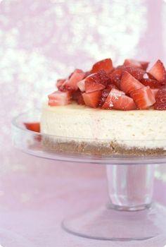 Vanilla Cheesecake. #cheesecake