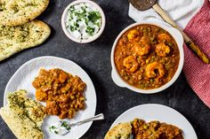 King Prawns in a rich creamy tomato sauce packed full of spices; this King Prawn Masala curry is so yummy there'll be no leftovers. Ready in half an hour!