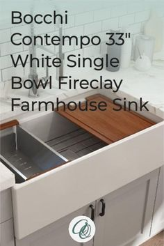 Fireclay Farmhouse Sink, Farmhouse Sink Kitchen, Best Kitchen Faucets, Farmhouse Aprons, Kitchen On A Budget, Craftsman, Countertops, Appliances, Advice