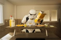 Ever wondered what the Stormtroopers from Star Wars do on their day off? Well, Spanish photographer Jorge Pérez Higuera has tried to imagine what they might get up to.