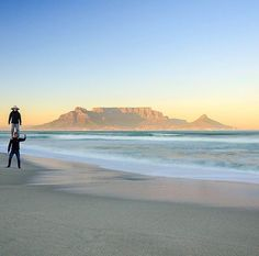 Blouberg beach and crazy friends in Cape Town, South Africa