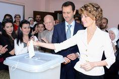 شاهد ماذا قال بشار الأسد بكل غباء بعد ممارسة حقه الإنتخابي ! - هنا سوريا