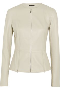 THE ROW Anasta leather jacket  $2,890.00 https://www.net-a-porter.com/product/848213