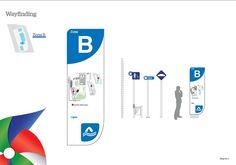 Diseño de Gráfica del entorno (señalética): Elementos para guiar e informar al usuario. (desarrollado en equipo de trabajo)